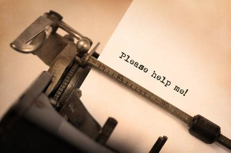 38472807-vintage-inscription-made-by-old-typewriter-please-help-me-