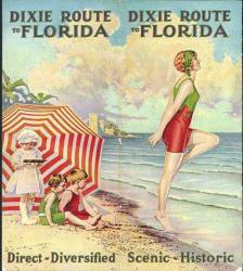 vintage-beach-posters-vintage-travel-beach-poster-take-the-route-vintage-palm-beach-posters