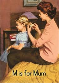 Mom braided your hair every day when you were little~~ Vintage ...