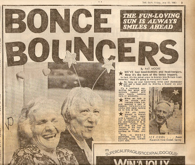 80s Actual: 1982: Invasion Of The Deelybobbers/Deelyboppers/Beeny Boppers/Bonce  Boppers/Space Boppers...